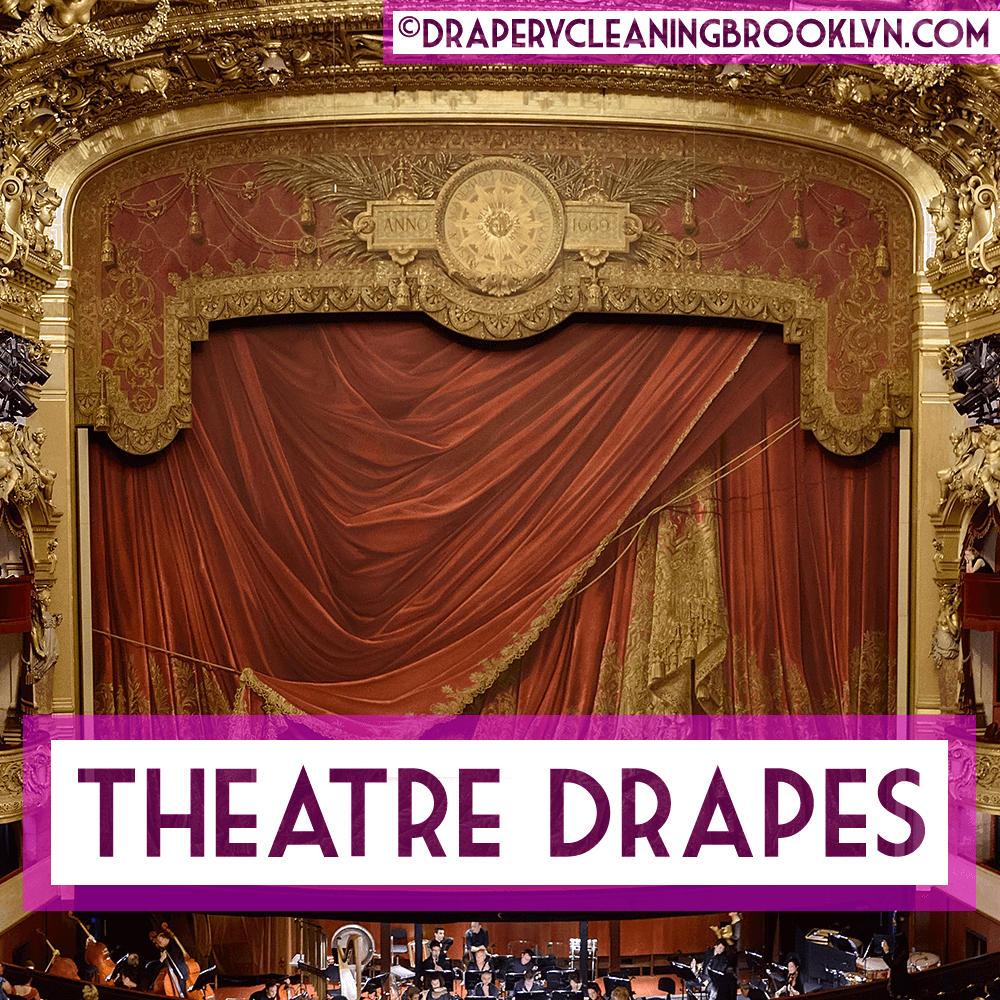 Theatre Stage Drapes and Curtains