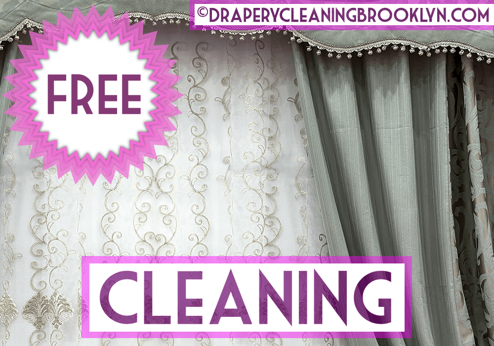 Get 5th Window Treatment Cleaned For Free